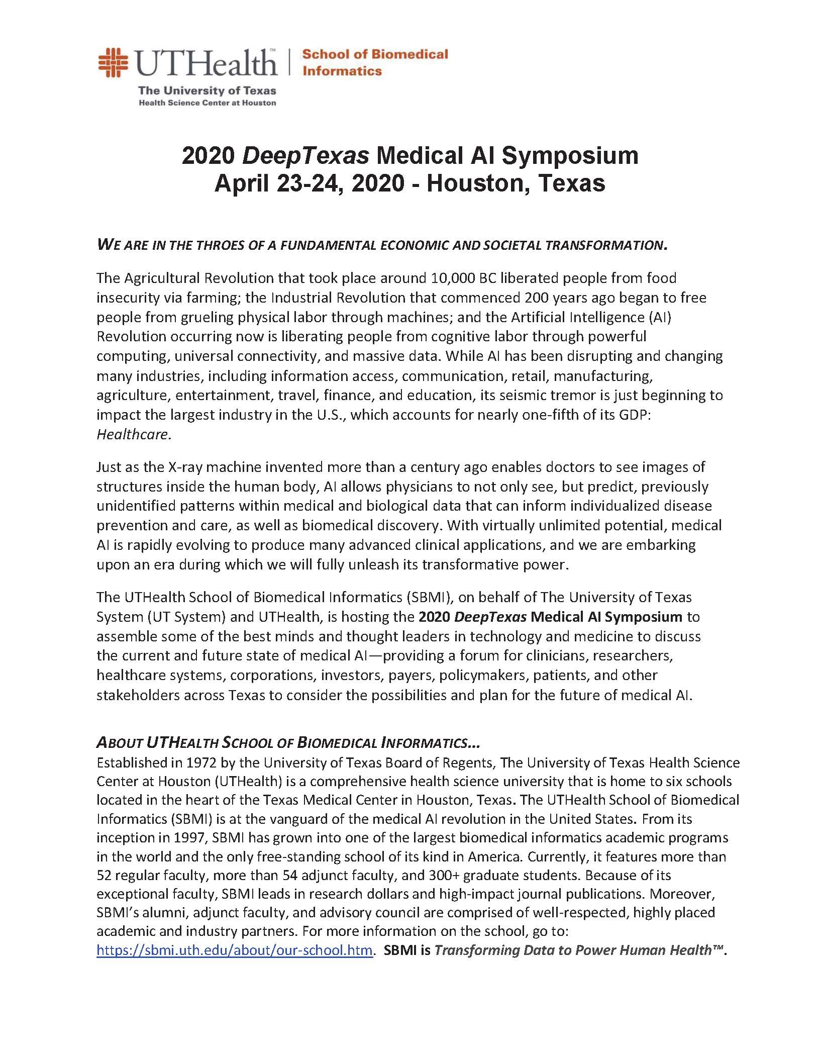 2020 DeepTexas Medical AI Symposium (002)